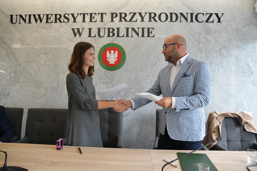 Podpisanie porozumienia Projekt Las