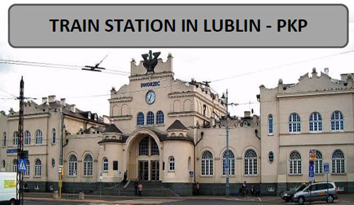 arrival - Lublin train station