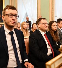 Listy gratulacyjne dla stypendystów programu Miasta Lublin