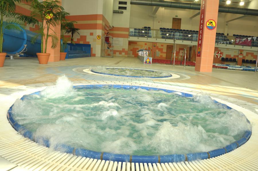 Pływalnia – wanny jacuzzi