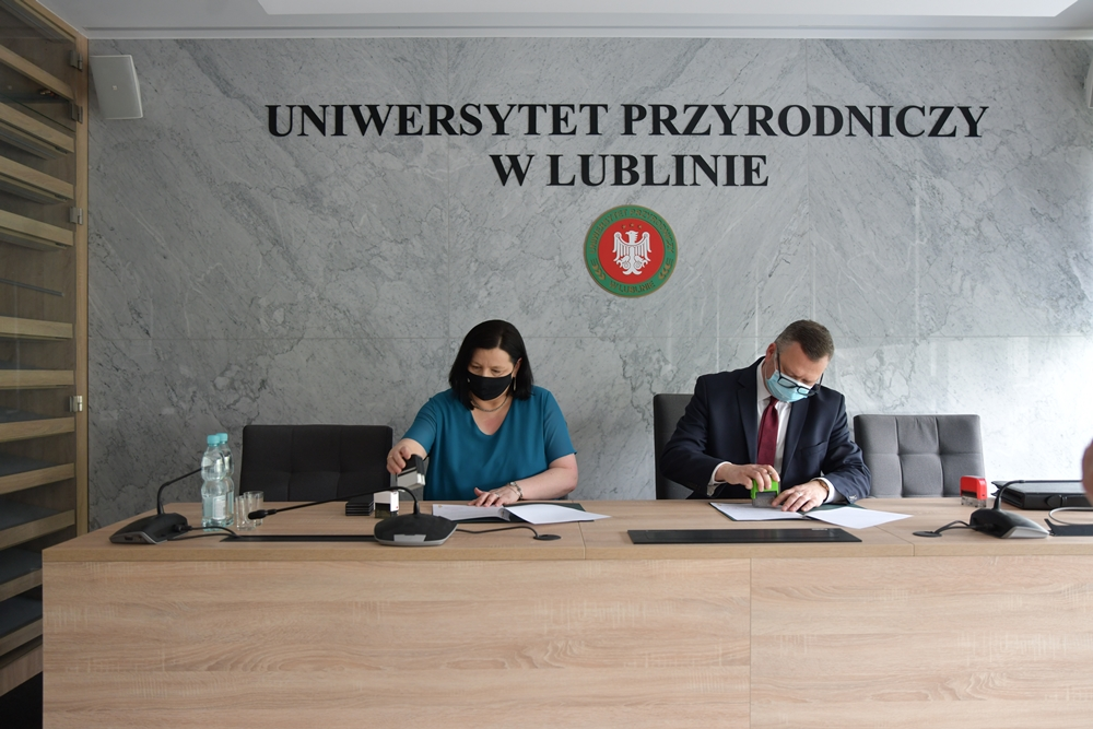 Współpraca z II LO im. K. K. Baczyńskiego w Świdniku
