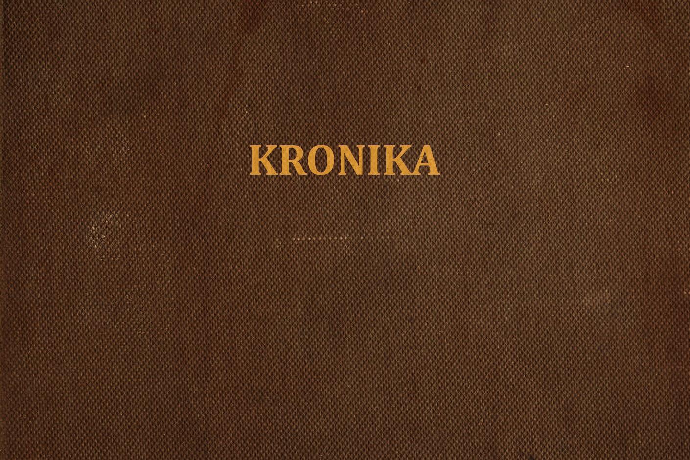 Kronika 1982-1985