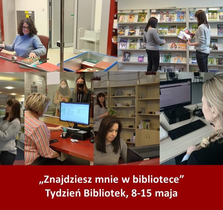 Przedstawiamy projekty przygotowane przez nas z okazji tygodnia bibliotek