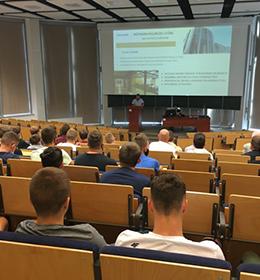 Wizyta uczniów z Zespołu Szkół Centrum Kształcenia Rolniczego im. Wincentego Witosa w Leśnej Podlaskiej na Wydziale Inżynierii Produkcji UP w Lublinie