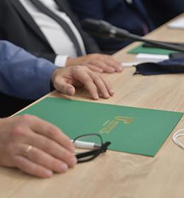 Wideo-relacja: podpisanie porozumienia o współpracy pomiędzy Związkiem Uczelni Lubelskich a Uniwersytetem Medycznym w Lublinie