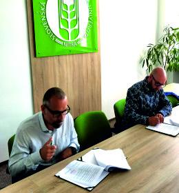 Podpisanie porozumienia z Uniwersytetem Rolniczym w Nitrze