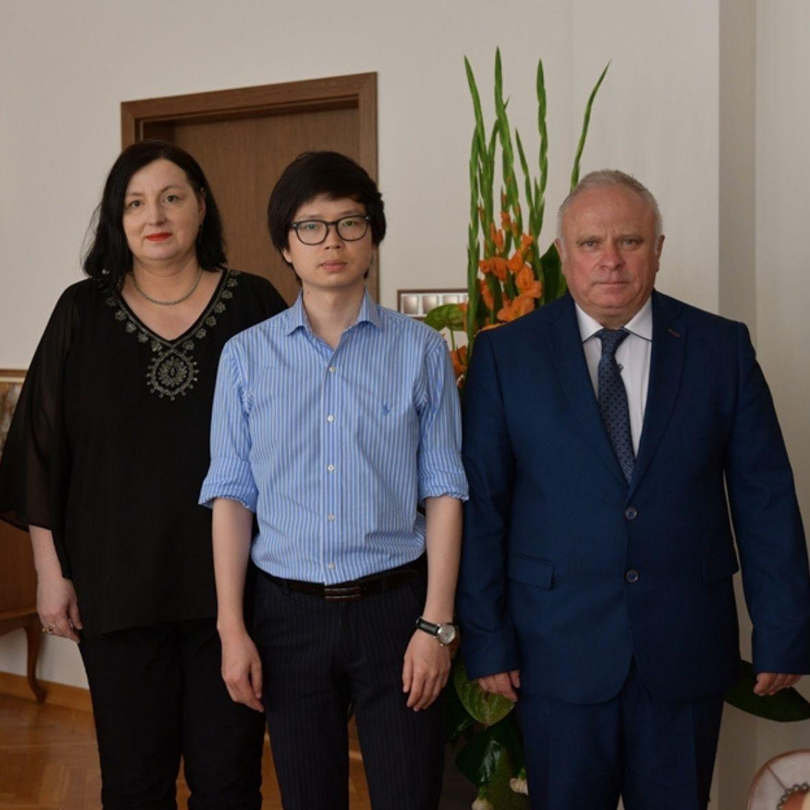 Spotkanie z Prezesem Chinese-European International Cooperation Fundation