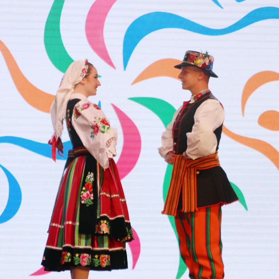 Zespół Pieśnmi i Tańca 'Jawor' w Bułgarii