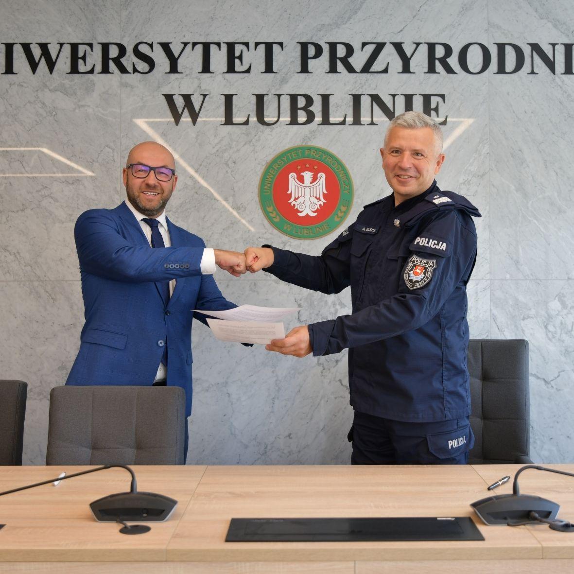Porozumienie o współpracy z Komendą Wojewódzką Policji w Lublinie