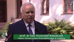 Wywiad z Rektorem prof. dr hab. Krzysztofem Kowalczykiem dla 'Agro Wieści'