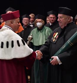 Uroczystość nadania tytułu Doktora Honoris Causa UP w Lublinie prof. dr. hab. Marianowi Wesołowskiemu