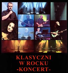 'Klasyczni w Rocku' - zaproszenie na koncert