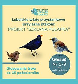 Zachęcamy do głosowania na projekt 'Szklana Pułapka' w ramach Budżetu Obywatelskiego