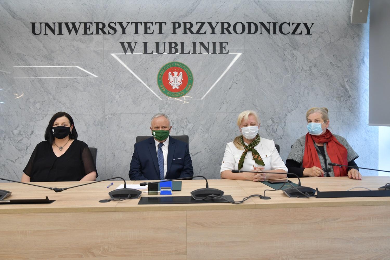 Współpraca ze  Stowarzyszeniem Aktywizacji Polesia Lubelskiego
