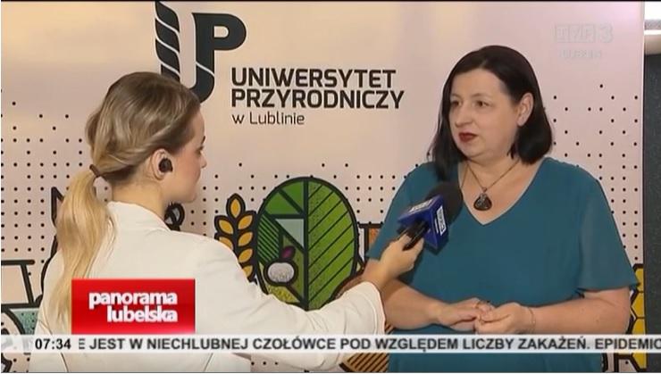 Inauguracja roku akademickiego 2021/2022 na Uniwersytecie Przyrodniczym w mediach