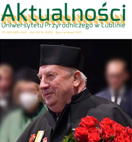 Najnowszy numer 'Aktualności' UP w Lublinie