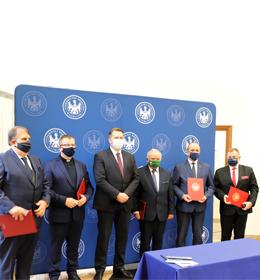 Podpisanie deklaracji Lubelskiej Unii Cyfrowej