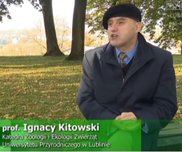Dr hab. Ignacy Kitowski, prof. uczelni o wybitnym ornitologu - Władysławie Taczanowskim